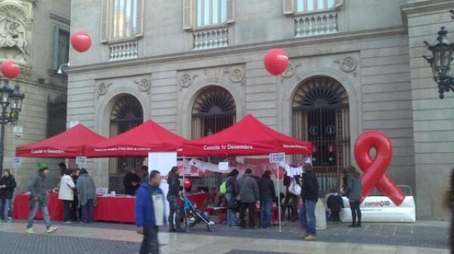 Imatge2 Comitè 1r de Desembre - Plataforma Unitària d'ONG-SIDA de Catalunya