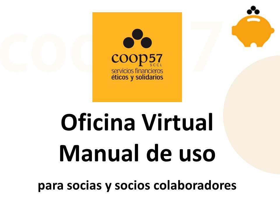 Manual de uso oficina virtual en castel n coop57 for Oficina virtual aguas de barcelona